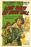 Last Days of Boot Hill movie poster (1947) picture MOV_888960ba
