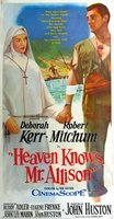 Heaven Knows, Mr. Allison movie poster (1957) picture MOV_888e04ad