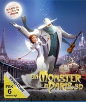 Un monstre à Paris movie poster (2011) picture MOV_889830ba