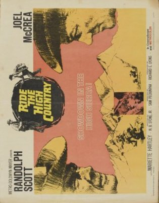 Ride the High Country movie poster (1962) poster MOV_88a0e4e5