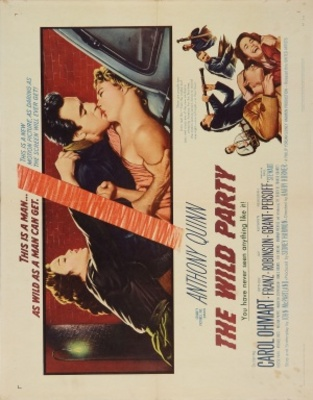 The Wild Party movie poster (1956) poster MOV_88dcc81a