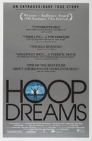 Hoop Dreams movie poster (1994) picture MOV_88e988c0