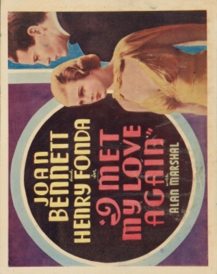 I Met My Love Again movie poster (1938) poster MOV_88fb274a
