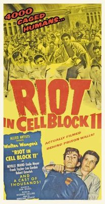 Riot in Cell Block 11 movie poster (1954) poster MOV_8900ccc6