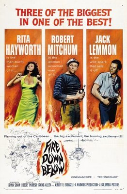 Fire Down Below movie poster (1957) poster MOV_8903c47c