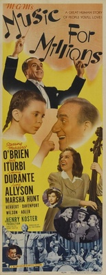 Music for Millions movie poster (1944) poster MOV_89076559