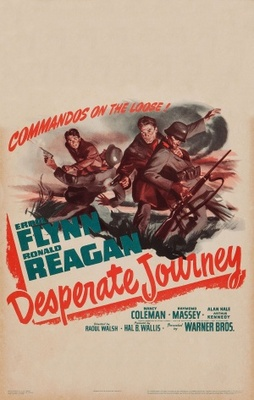 Desperate Journey movie poster (1942) poster MOV_89082759