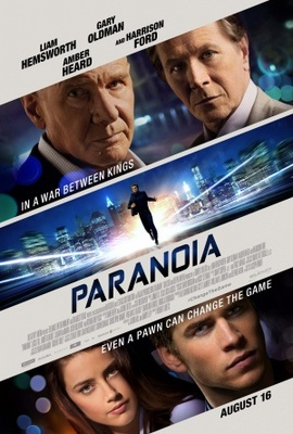 Paranoia movie poster (2013) poster MOV_8918182f