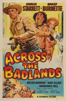 Across the Badlands movie poster (1950) poster MOV_891de651