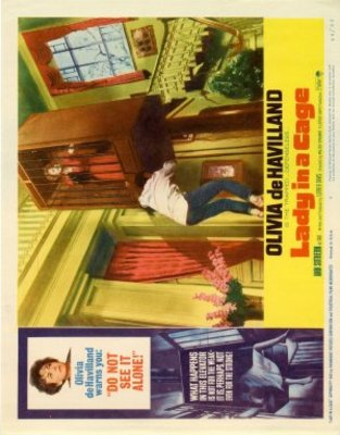 Lady in a Cage movie poster (1964) poster MOV_89339c9e