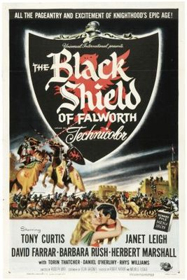The Black Shield of Falworth movie poster (1954) poster MOV_8940e599