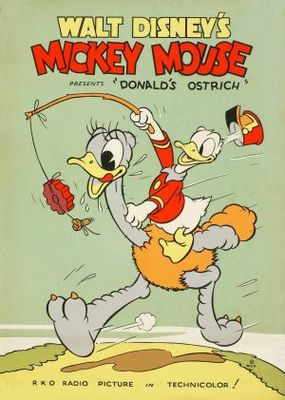 Donald's Ostrich movie poster (1937) poster MOV_894e4436