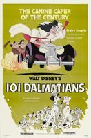 One Hundred and One Dalmatians movie poster (1961) picture MOV_89517066