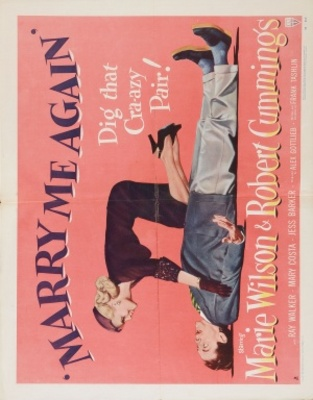 Marry Me Again movie poster (1953) poster MOV_89795d06