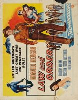 Law and Order movie poster (1953) picture MOV_897db189