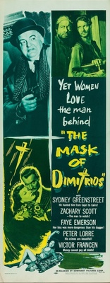 The Mask of Dimitrios movie poster (1944) poster MOV_8989029f