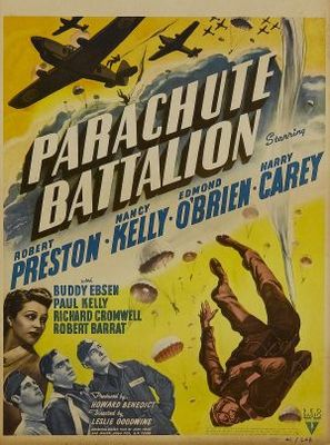 Parachute Battalion movie poster (1941) poster MOV_898ff340