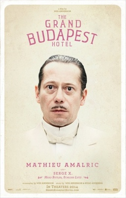 The Grand Budapest Hotel movie poster (2014) poster MOV_899c44fe