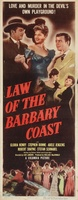 Law of the Barbary Coast movie poster (1949) picture MOV_89a2c181