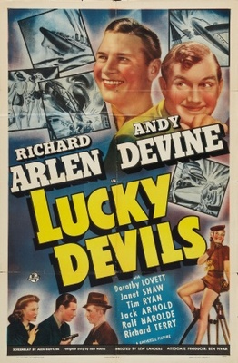 Lucky Devils movie poster (1941) poster MOV_89a3a921