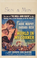 World in My Corner movie poster (1956) picture MOV_89a471d4