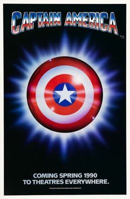 Captain America movie poster (1991) poster MOV_89af65be