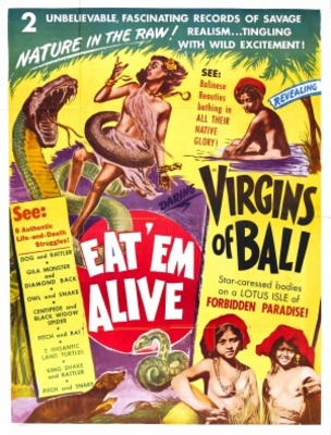 Eat 'Em Alive movie poster (1933) poster MOV_89ccf60d