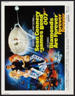 Diamonds Are Forever movie poster (1971) poster MOV_89d47a6e