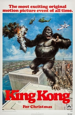 King Kong movie poster (1976) poster MOV_89d5e123