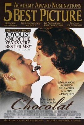 Chocolat movie poster (2000) poster MOV_89d67342