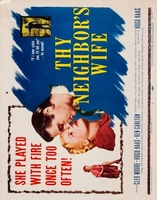 Thy Neighbor's Wife movie poster (1953) picture MOV_89f51be5