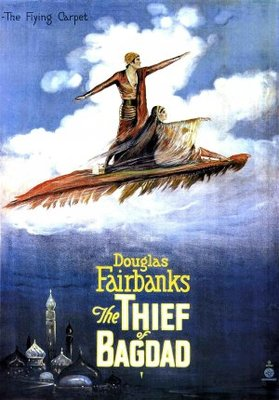 The Thief of Bagdad movie poster (1924) poster MOV_89f77e6f