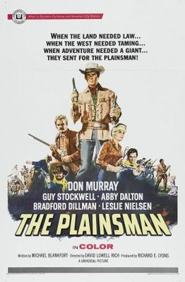 The Plainsman movie poster (1966) poster MOV_8a13db51
