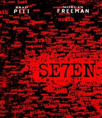 Se7en movie poster (1995) poster MOV_8a1757c2
