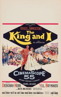 The King and I movie poster (1956) poster MOV_8a17b130