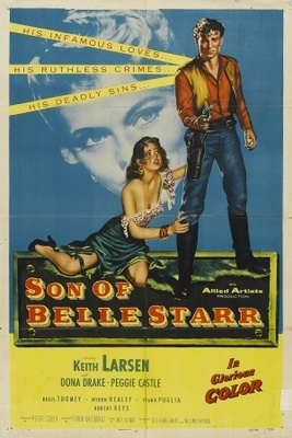 Son of Belle Starr movie poster (1953) poster MOV_8a185b92