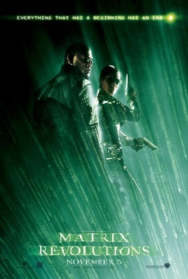 The Matrix Revolutions movie poster (2003) poster MOV_8a51173d