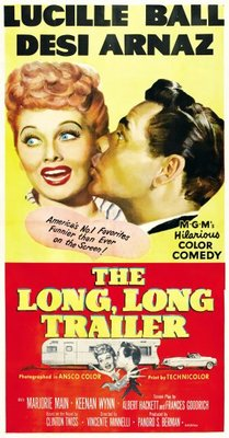 The Long, Long Trailer movie poster (1954) poster MOV_8a5dcb84