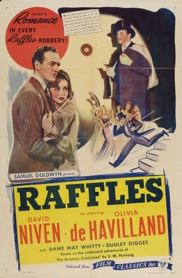 Raffles movie poster (1939) poster MOV_8a67084b