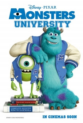 Monsters University movie poster (2013) poster MOV_8a7ab195