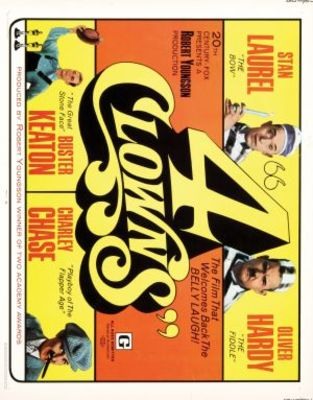 4 Clowns movie poster (1970) poster MOV_8a7df2c1