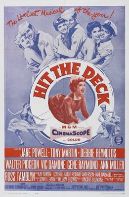 Hit the Deck movie poster (1955) poster MOV_8a7e067e