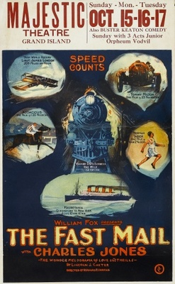 The Fast Mail movie poster (1922) poster MOV_8a82c0ac