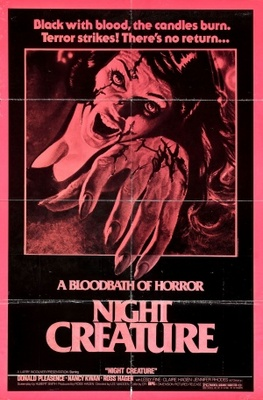 Night Creature movie poster (1978) poster MOV_8a836a48
