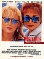 Postcards from the Edge movie poster (1990) picture MOV_8a8a7920
