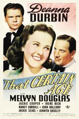 That Certain Age movie poster (1938) poster MOV_8a8e505c