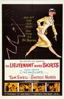 The Lieutenant Wore Skirts movie poster (1956) picture MOV_8a92a7f4
