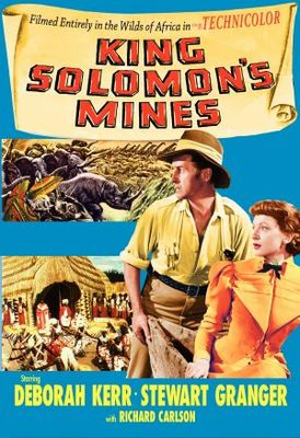 King Solomon's Mines movie poster (1950) poster MOV_8a9db35d