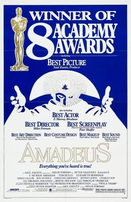 Amadeus movie poster (1984) poster MOV_8aa06412