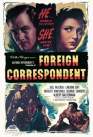 Foreign Correspondent movie poster (1940) picture MOV_ce49b5b9